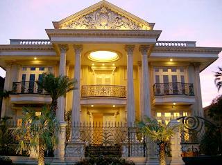 Kesan Mewah Pada Rumah Gaya Klasik