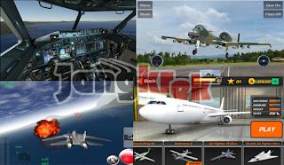 Game simulasi pesawat untuk android terbaik 2016