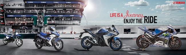 Hé lộ gian trưng bày của Yamaha tại Vietnam Motorcycle Show 2016