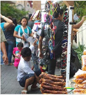 Walk arround pasar baru, Jakarta's Market