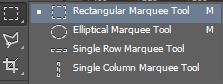 Nhóm công cụ marquee tool (m)