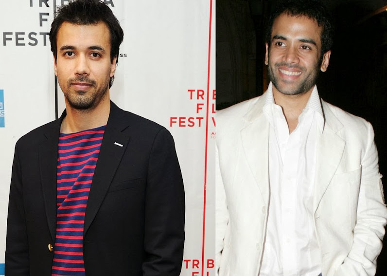 Phillip Rhys and Tusshar Kapoor