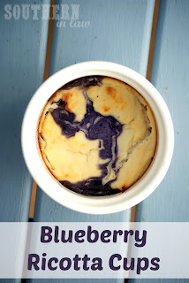 Baked Blueberry Ricotta Cups Recipe Gluten Free