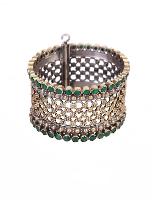 Ganga Jamna Silver Bangle MRP rs. 19,990