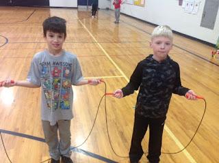 partner jump rope trick