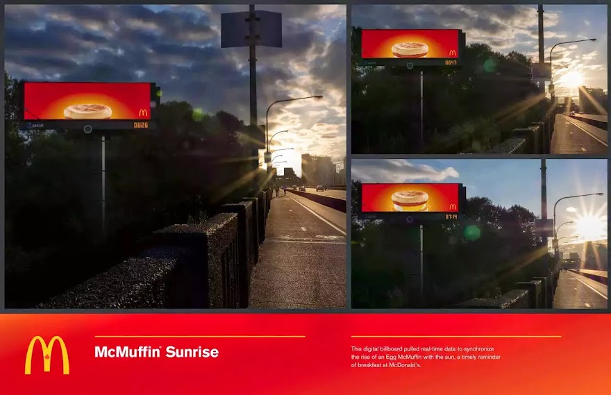 "New Ads for McDonald""s Celebrate A Child""s Birth In Finland and a McMuffin Sunrise in Canada"