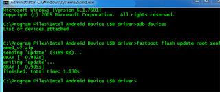Cara Terbaru dan Mudah Root Asus Zenfone 4 Kitkat 4.4.2
