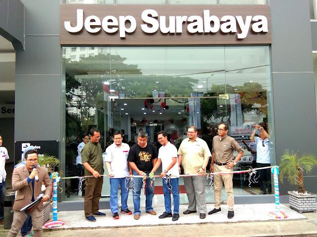 pembukaan dealer jeep surabaya