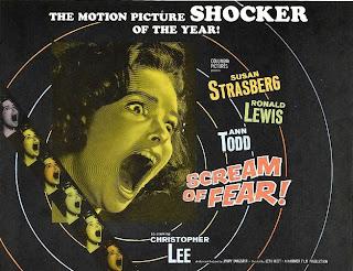 Cartel de la película Scream of fear (El Sabor del miedo)