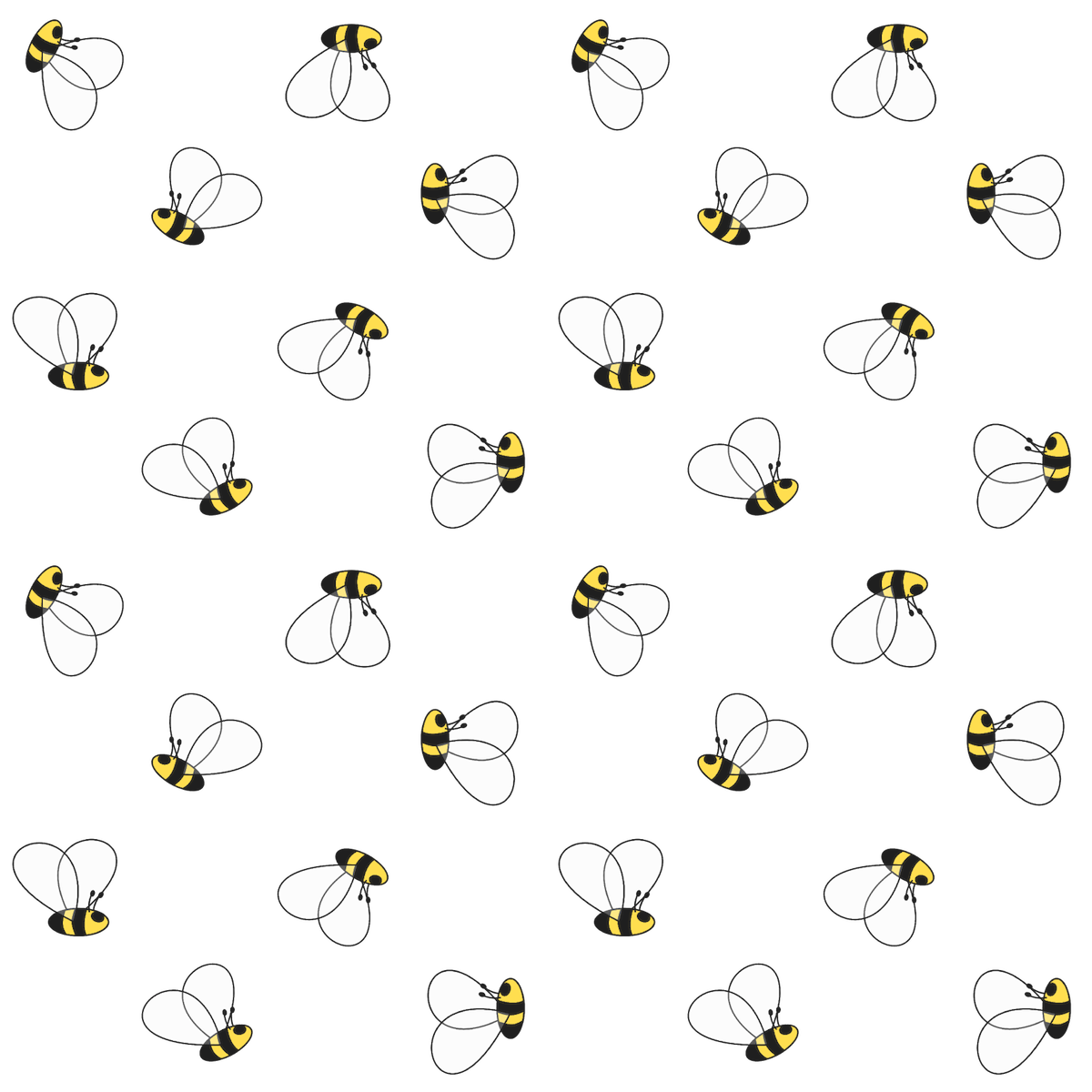 Free Digital Bee Scrapbooking Paper And Printable Geschenkpapier Freebie