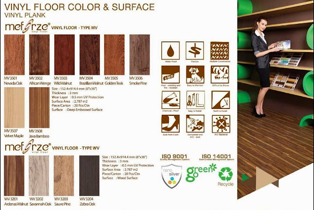 Vinyl Meforze type n colors