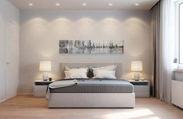 Thiết kế phòng ngủ căn hộ Athena Fulland Đại Kim