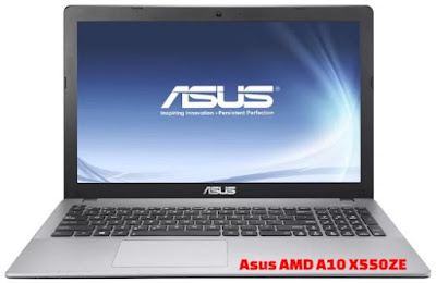 Harga Laptop Asus AMD A10 X550ZE