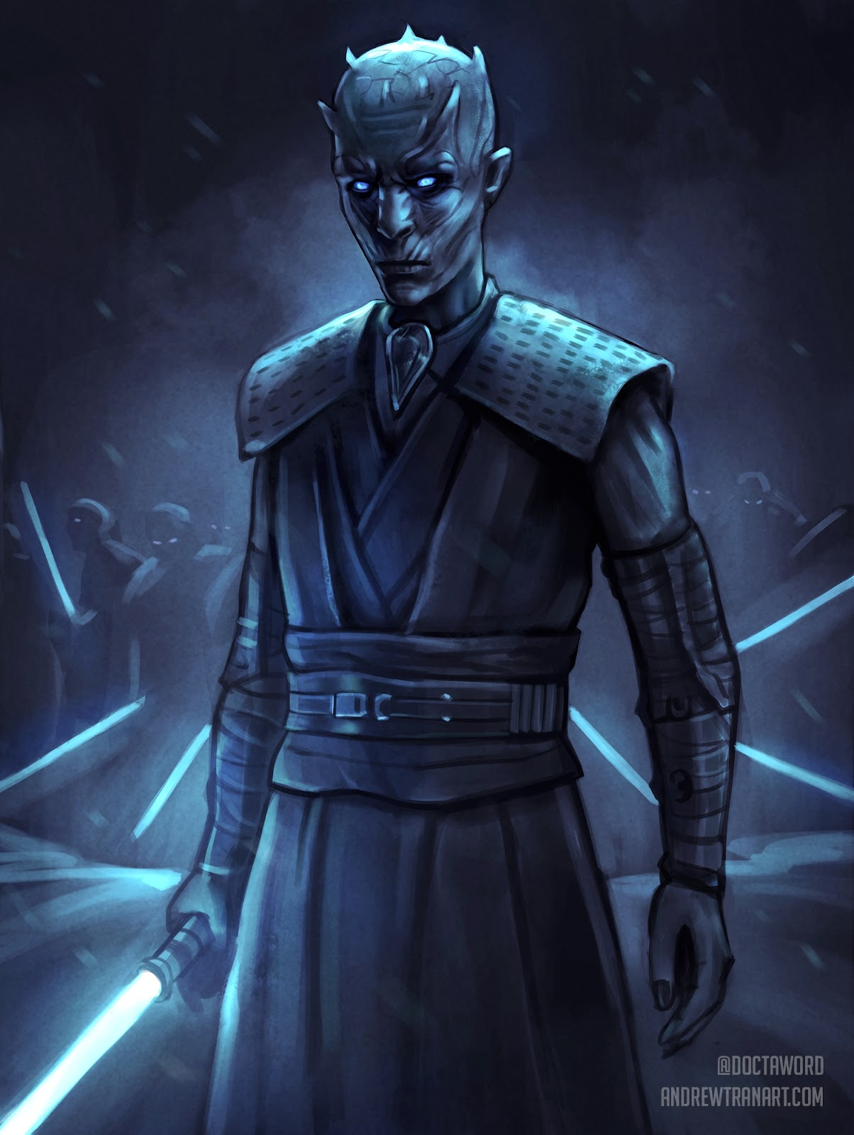 06-The-Night-King-Richard-Brake-Andrew-D-Tran-Doctaword-Star-Wars-and-Game-of-Thrones-Mashup-www-designstack-co