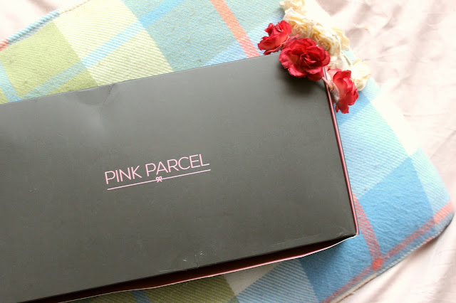 pink parcel subscription box monthly