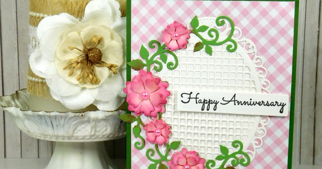 a stroke of jeanneius beautiful happy anniversary card
