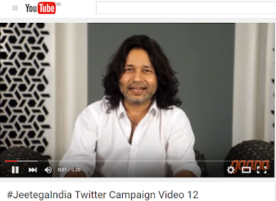 Kailash Kher and Gaana Cheer Indian Cricket team with Jugalbandi