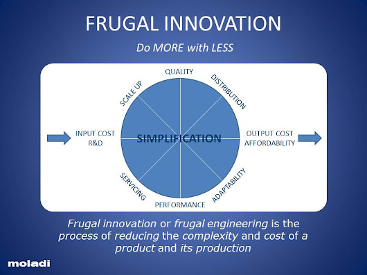 reverse frugal innovation New, cheap, and improved assessing the promise of reverse and frugal innovation to address noncommunicable diseases.