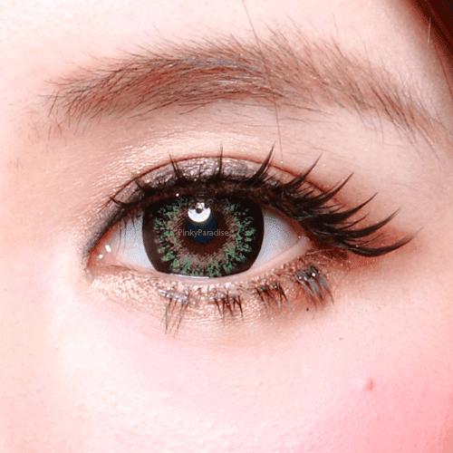 Geo Princess Mimi Apple Green Close-up