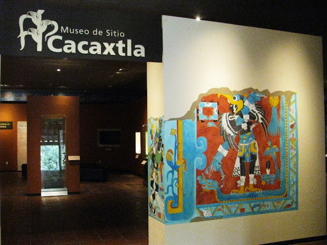 Museo de sitio Cacaxtla