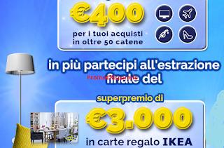 Logo ''Eroi di Casa'': vinci Gift card da 300, 400 e 3.000 euro e molto di più