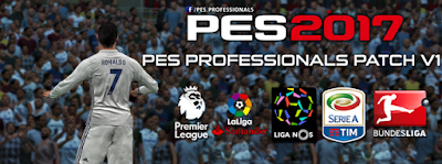 PES 2017 PC Professionals Patch 2017 V1 AIO