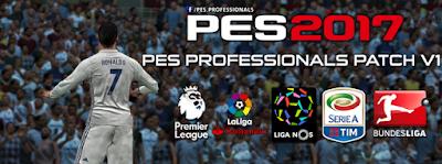 PES 2017 PC Professionals Patch 2017 V1 AIO