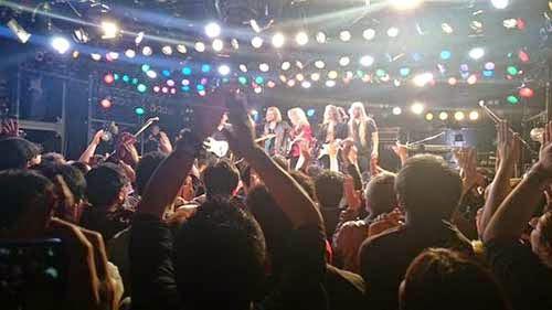 ウリ・ジョン・ロートのジャパンツアー最終公演大阪(梅田クラブクアトロ)