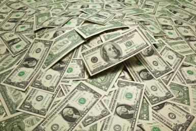 Dollar on a steady nosedive