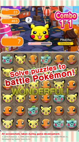 Pokémon Shuffle Mobile Info + Download Links | IGamePlay