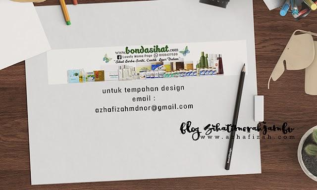 Design Header Blog Bondasihat.com