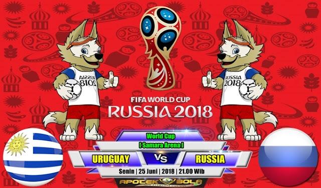 Prediksi Uruguay vs Russia 25 Juni 2018