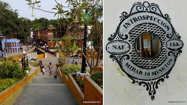 Barranco, bairro boêmio de Lima, Peru