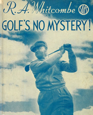 Book cover of golfer Reg Whitcombe