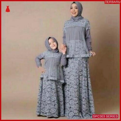 SPC303G32 Gamis Couple Pasangan Gamis Batik & Kebaya Wanita | BMGShop