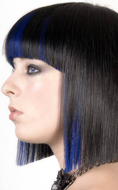 Shoulder Length Straight Hairstyle For Fresh Young Girl