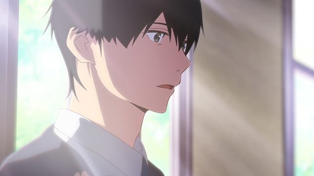 """I want to eat your pancreas"" - ""Me"" (VA: Mahiro Takasugi/Robbie Daymond): A high school student, who avoids getting to know anyone too deeply. Likes reading. Accidentally discovers Sakura's secret after picking up ""Living with Dying."""