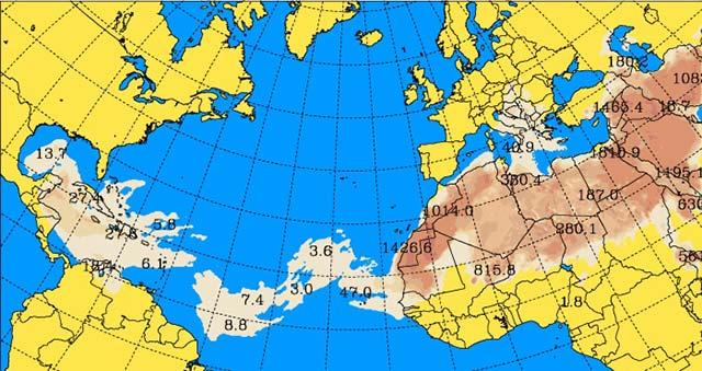 La calima se va de Canarias, 28 junio