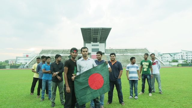 Best wishes for Bangladesh Victory Day 2016 from UNIMAS Students