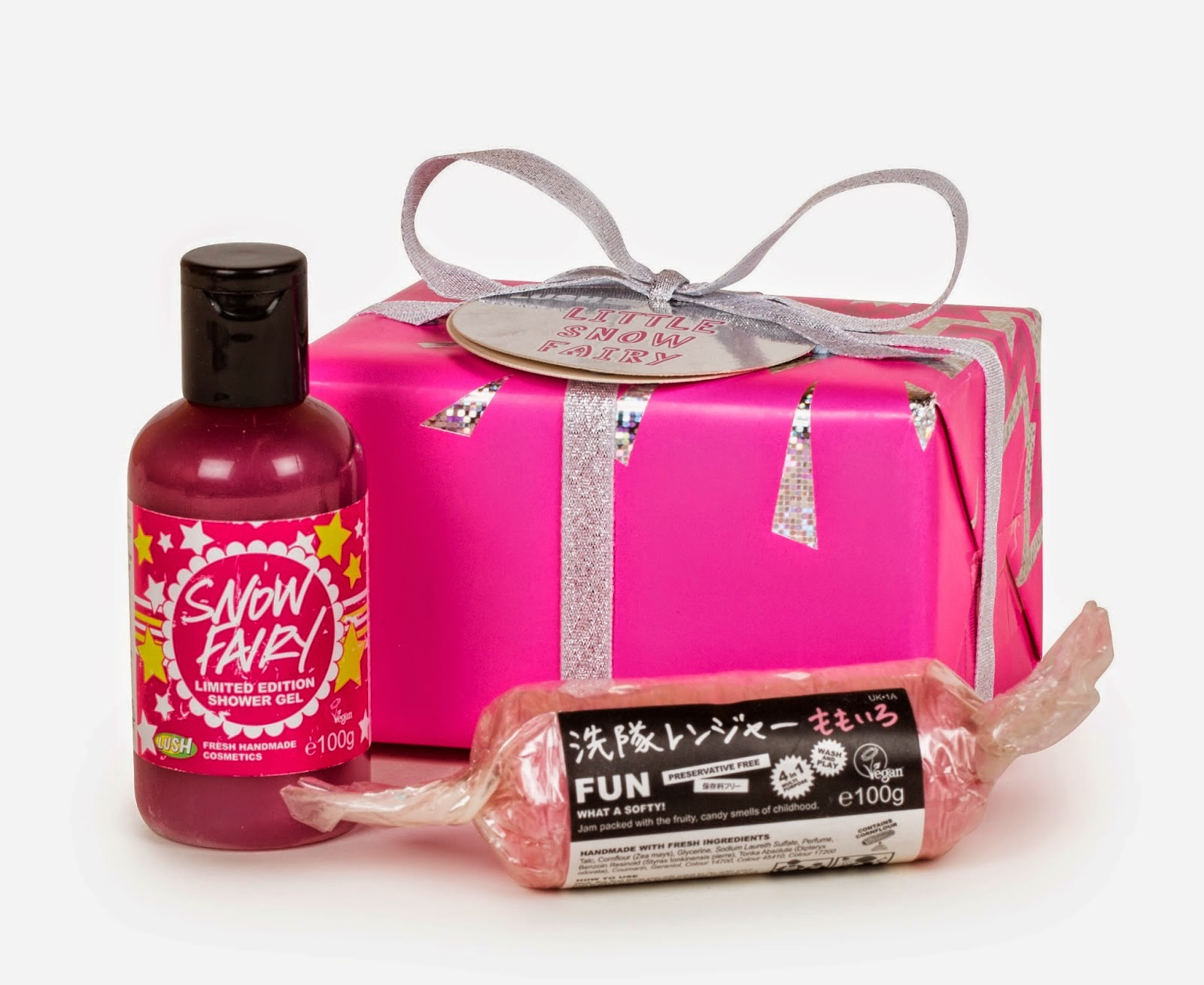 Can Shower Gel Be Used As Bubble Bath Kelefreak Lush Little Snow Fairy Gift Package Review