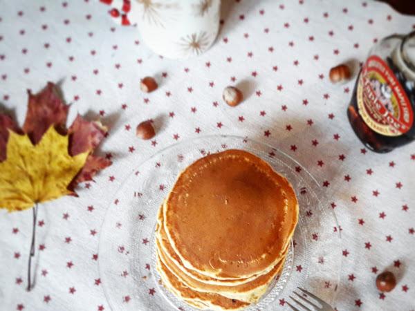 Pancakes à la noisette