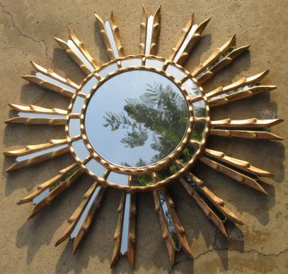 Mix And Chic Fabulous Finds Starburst Sunburst Mirrors