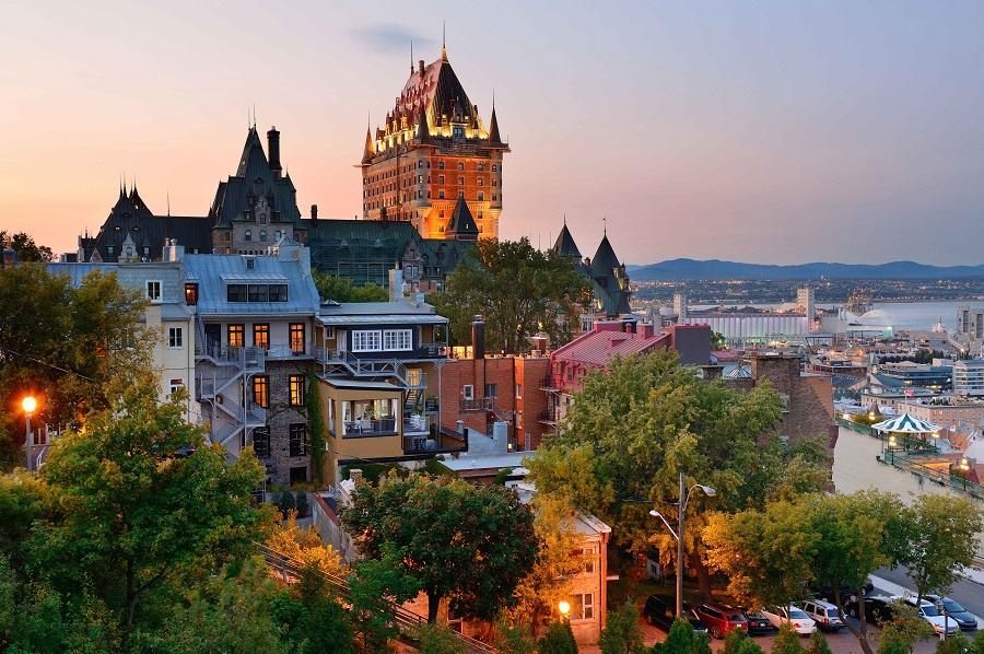 Centro Histórico de Quebec principais pontos turísticos do Canadá