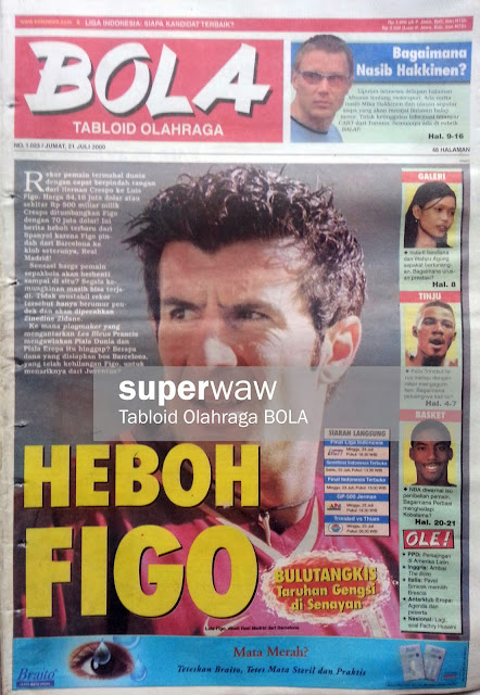 Tabloid BOLA: HEBOH FIGO