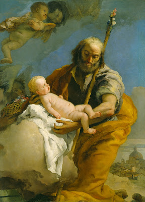 Imagem de São José com o Menino Jesus, #1