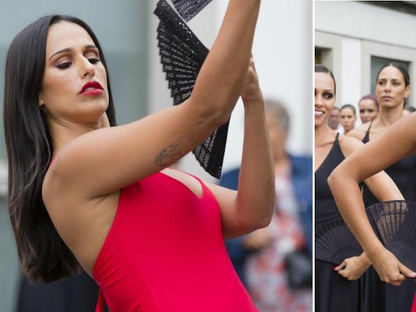 """Rita Pereira com vestido vermelho no genérico de """"A Herdeira"""""""