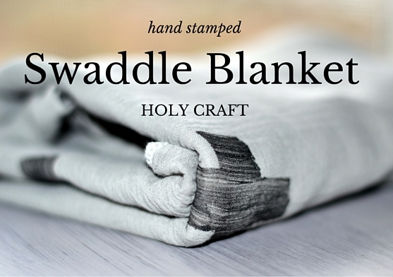 handmade swaddle blanket
