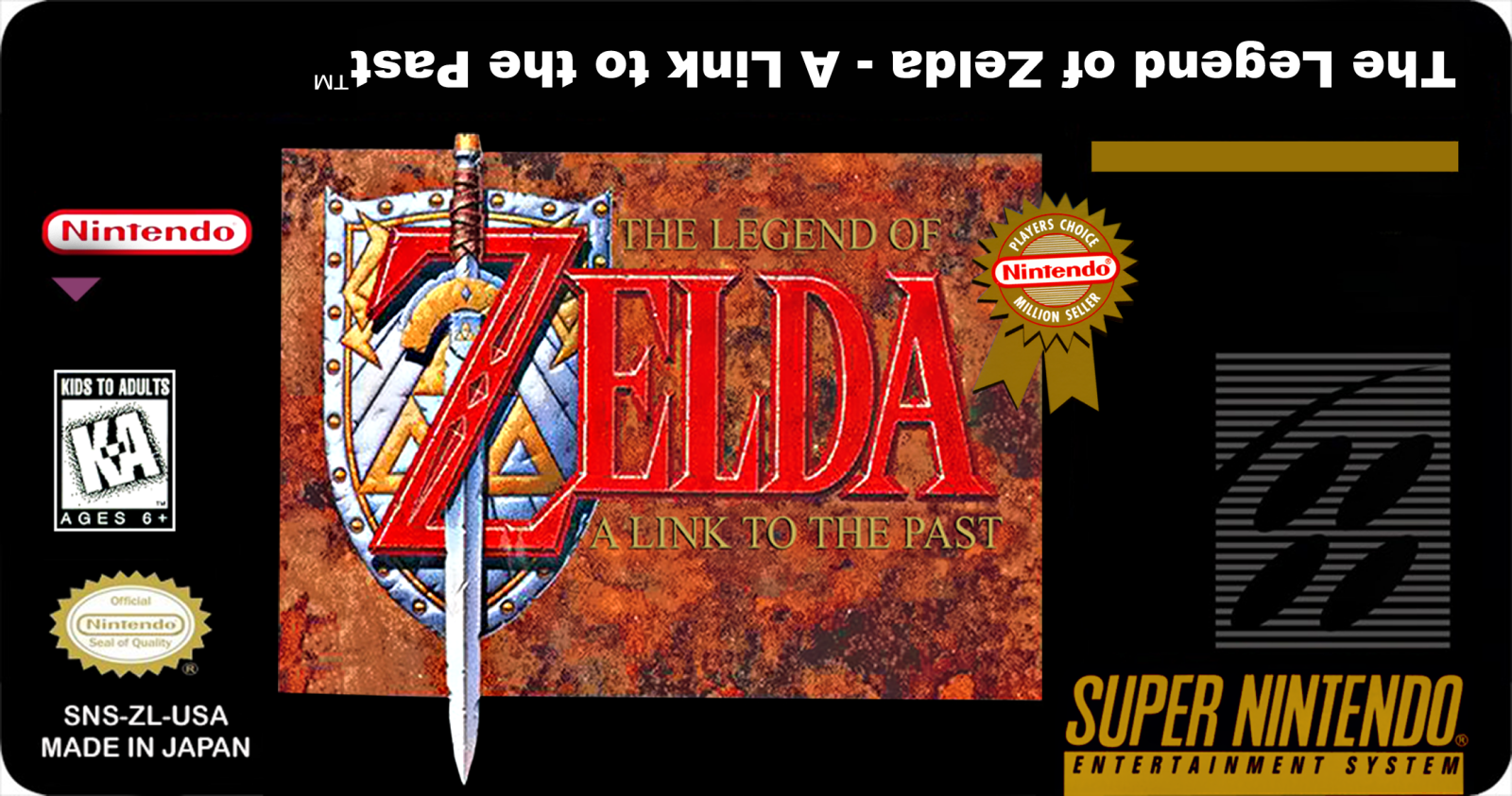 Super Nintendo para sempre!: Labels: The Legend of Zelda: A