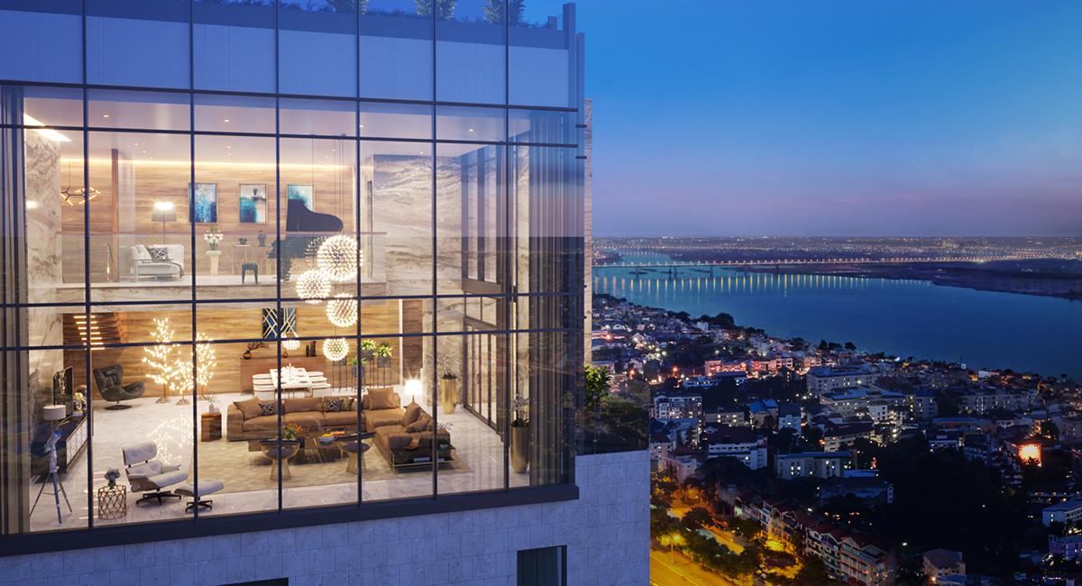 Duplex Penthouse Sun Group Lương Yên
