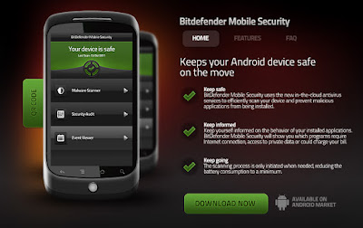 Aplikasi Antivirus Android Terbaik - BitDefender Mobile Security